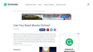 Can You Read iBooks Online? | Techwalla.com