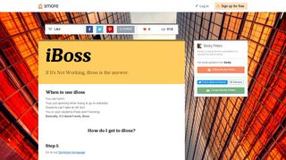 iBoss | Smore Newsletters for Education