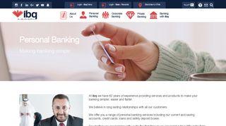 Personal Banking   International Bank of Qatar - ibq