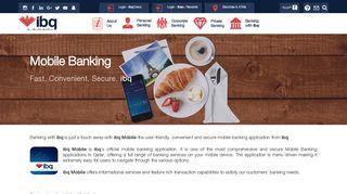 Mobile Banking   International Bank of Qatar - ibq