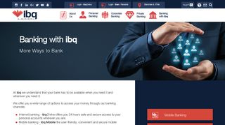 Banking with ibq   International Bank of Qatar