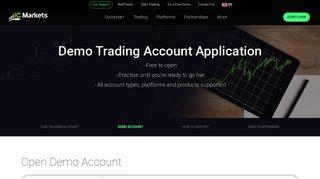 Open Demo Account | IC Markets