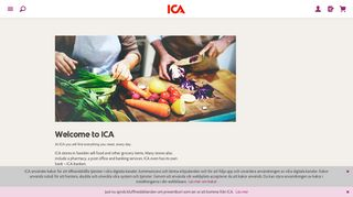 Your local grocery store and a bank | ICA