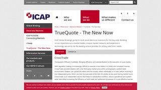 TrueQuote - The New Now – ICAP