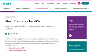 Insurance for NSW portal | icare