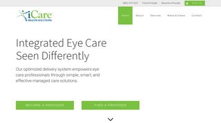 iCare Health Solutions   Integrated Eye Care Seen Differently