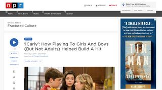 'iCarly': How Playing To Girls And Boys (But Not Adults) Helped ...