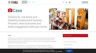 iCase Job Services - Employment Services Software   SoNET