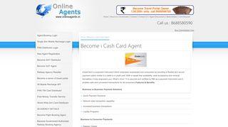 Become i Cash Card Agent