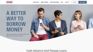Instant Cash Advance in Canada and Flexpay Loans   iCASH