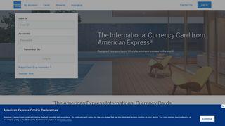 American Express ICC | Log in | Credit Cards, Travel & Rewards