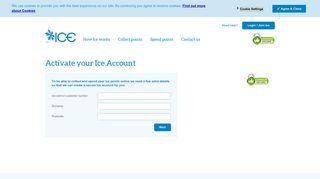 Login or Join Ice - The Ice Customer Loyalty Programme - Myice.com