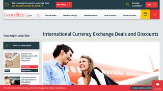 International Currency Exchange Deals | Boundless by CSMA