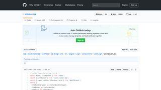 ice/UserLogin.jsx at master · alibaba/ice · GitHub
