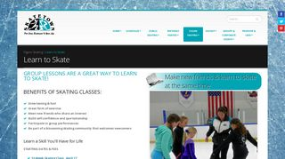 Learn to SKATE | Group & Private Lessons | Skatetown Ice ... - Roseville