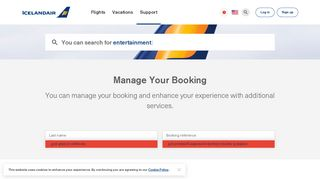 Manage your trips | Icelandair
