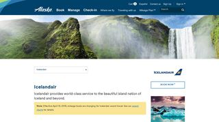 Icelandair - Airline partners - Mileage Plan | Alaska Airlines