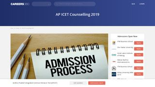 AP ICET Counselling 2019 - Check Registration, Procedure here