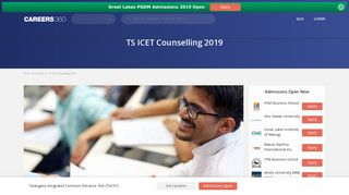 TS ICET Counselling 2019 - Check Schedule and Procedure here