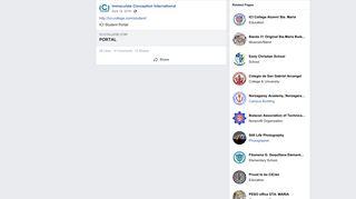 http://ici-college.com/student/ ICI Student Portal - Facebook