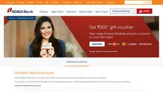 Digital Banking Services - ICICI Bank
