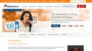Internet Banking  Net Banking   Online Banking ... - ICICI Bank