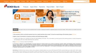 Online Banking - Safe Online Banking by ICICI Bank
