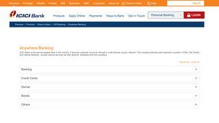 Debit Card | ATM Card | ATM Debit Card | Internet Banking - ICICI Bank