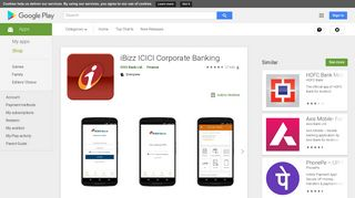 iBizz ICICI Corporate Banking - Apps on Google Play