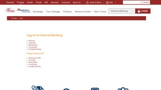 Privilege Banking Login | ICICI Bank