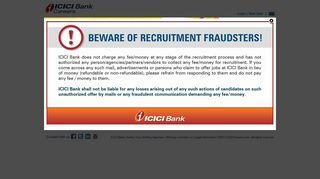 ICICI Bank: Careers
