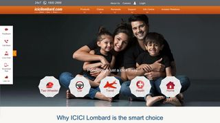 ICICI Lombard General Insurance in India: Health, Car, Two Wheeler ...