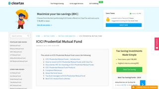 ICICI Prudential Mutual Funds - Best Schemes, ICICI MF NAV ...