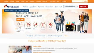 Benefits of Travel Cards - ICICI Bank