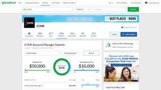 iCIMS Account Manager Salaries   Glassdoor