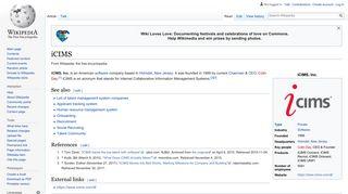 iCIMS - Wikipedia