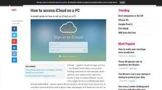 How to access iCloud on a PC   Alphr