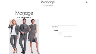 to Log-in - iManage by Ico Uniforms