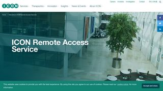 Welcome to ICON Remote Access Services - ICON plc