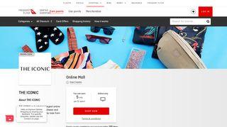 THE ICONIC Online Deals | Qantas Shopping Earn | Qantas Shopping