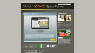 Icovia Online Interior Design Software. Space Planning and Interactive ...