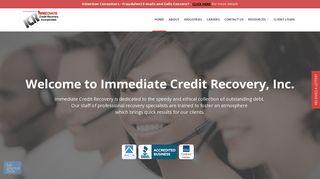 Immediate Credit Recovery, Inc.