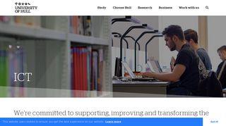 ICT | University of Hull