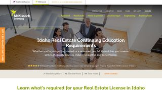Idaho Real Estate Continuing Education Requirements   McKissock ...