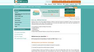 Home loan eligibility calculator   IDBI bank home loans