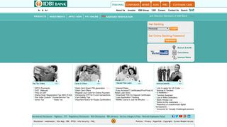 IDBI Bank: Personal & Corporate Banking | MSME & Agri banking