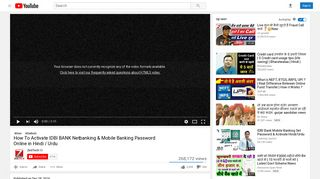 How To Activate IDBI BANK Netbanking & Mobile Banking ...