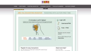 IDFC Mutual Fund: Invest Online in Mutual Funds, Mutual Funds ...