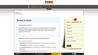 Mutual Fund Advisor - Become an Advisor with IDFC Mutual Funds