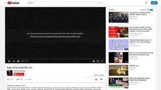 Agen Bola idola188.com - YouTube
